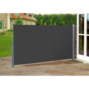 Seitenmarkise anthrazit 300 x 160 cm ( BxH )