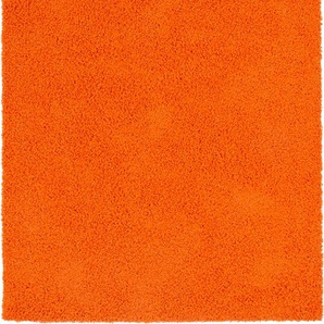 Hochflorteppich Swirls Orange 300x400 cm