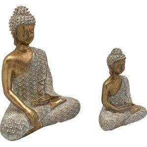 Home affaire Buddhafigur (Set 2 Stück)