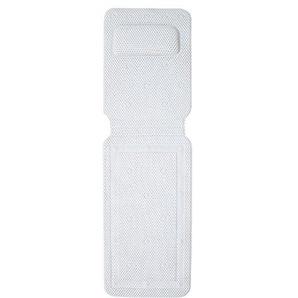 Bloomma Bad Kissen Matte, Full Body-PVC-Schaum Spa Badewanne Kissen rutschfeste Saugnäpfe, unterstützt Kopf, Nacken, Schulter, Rücken und Steißbein für Badezimmer Dusche