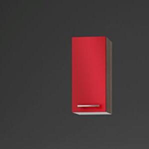 idealShopping GmbH Hängeschrank O306-9 in rot glänzend