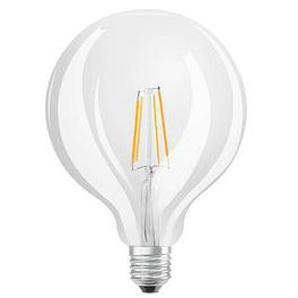 OSRAM LED-Lampe LED RETROFIT CLASSIC GLOBE E27 7 W klar