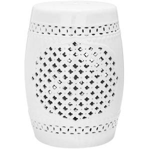 Keramikhocker Quatrefoil