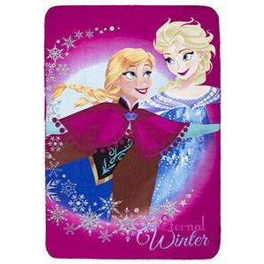 Frozen Kuscheldecke Anna & ELSA Die Eiskönigin Fleece Decke (pink_7233-3)
