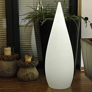 Arnusa Oasis Lights Design Leuchte Stehlampe mit Fernbedienung 16 Farben dimmbar LED Lounge Lampe Schaufensterbeleuchtung (Kegelleuchte (36x120cm))