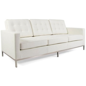 Knoll Lounge 3 Sitzer - Weiß