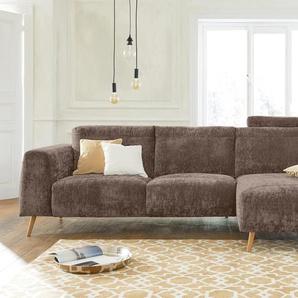 Guido Maria Kretschmer Home&living Eck-Sofa »Logge«, braun