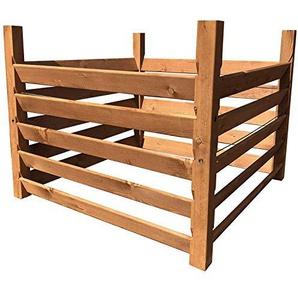 Holz KompostsiloBIO - Komposter mit Zuganker