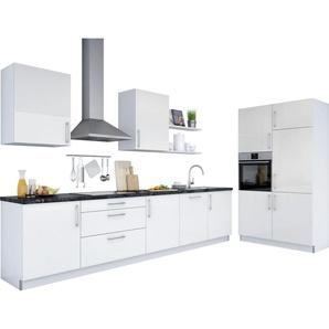 set one by Musterring Küchenzeile »Navaro« ohne E-Geräte, Breite 330 cm