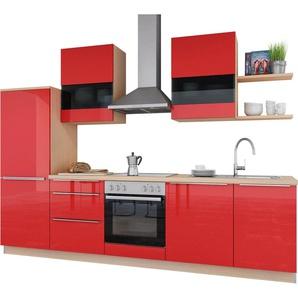 set one by Musterring Küchenzeile ohne E-Geräte »Siena«, Breite 290 cm, vormontiert