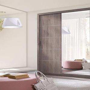 Kleiderschrank: Eiche San Remo / 250 cm