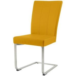 Stuhl,  Leonardo ¦ gelb ¦ Maße (cm): B: 44 H: 98 T: 61