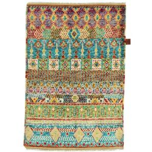 Orientteppich Artisan 124x84 Handgeknüpfter Teppich