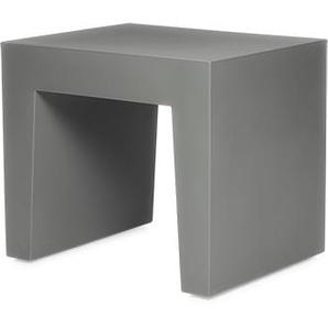 Concrete Seat Hocker Grey