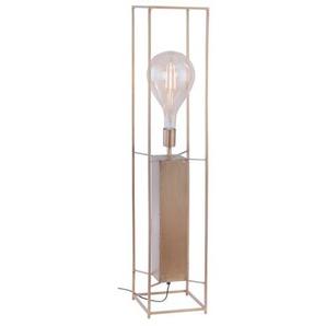Paul Neuhaus Stehlampe, Messing, Alu, Eisen, Stahl & Metall 99 cm