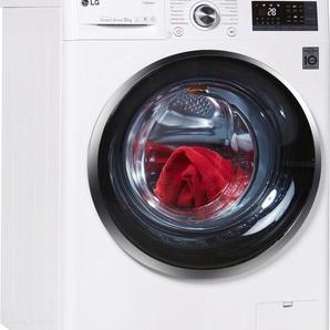 Waschmaschine Hygiene Care F 14WM 8TS2, Fassungsvermögen: 8 kg, weiß, Energieeffizienzklasse: A+++, LG