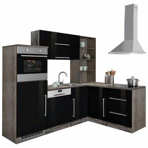 HELD MÖBEL Winkelküche »Samos« ohne E-Geräte, Breite 230x170 cm