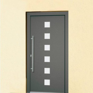 Roro Aluminium-Haustür »Italien« BxH: 110 x 210 cm, braun