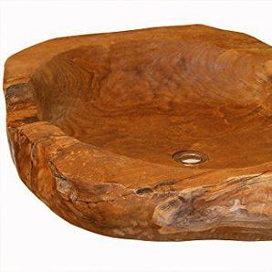 LioLiving®, Teak Waschbecken/Aufsatzwaschbecken ca. 60 cm (#400139)