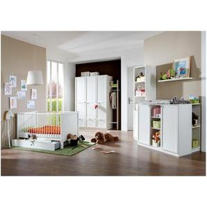 JUSTyou Raoul Kinderzimmer-Set Kinderzimmermöbel Komplett Weiß