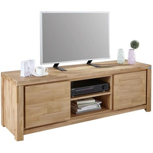 Linea Natura: TV-Element, Holz,Eiche, Eiche, B/H/T 150 50 40