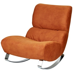 Design-Sessel orange - Stoff Citole ¦ orange ¦ Maße (cm): B: 76 H: 90 T: 103 Polstermöbel  Sessel  Polstersessel » Höffner