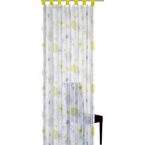 Elbersdrucke Schlaufenschal Flower Mix 255 x 140 cm grün-blau