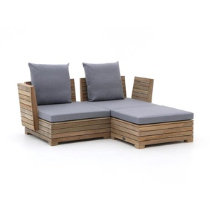 ROUGH-B Chaiselongue Lounge-Set 3-teilig
