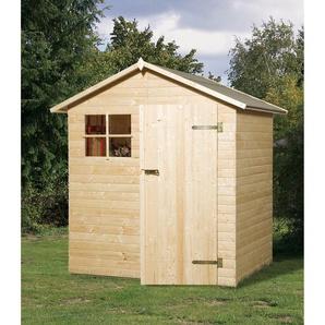 Weka Holz-Gartenhaus Easy A Natur BxT: 180 cm x 135 cm