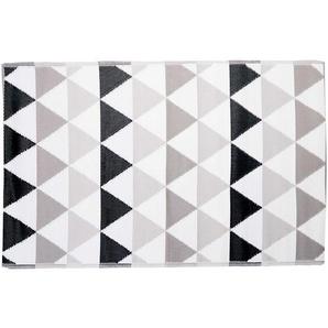 Butlers Colour Clash In- & Outdoor-Teppich Dreiecke 180x120cm