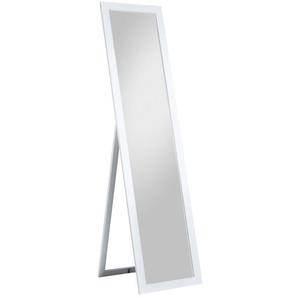 Standspiegel EMILIA MDF Weiß lackiert ca. 40 x 160 cm