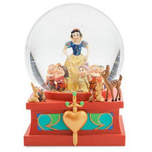 Schneekugel SCHNEEWITTCHEN, Art of Snow White, DISNEY
