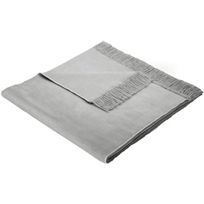 Biederlack Sofaläufer  »Cotton Cover«, 50x200 cm, silber