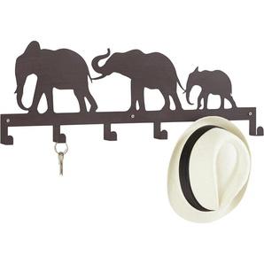Home affaire Hakenleiste Elefanten