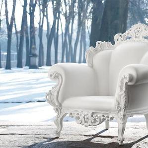 Sessel Proust Magis weiß, Designer Alessandro Mendini, 105x104x90 cm