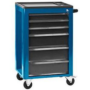 ADB Eco Werkstattwagen blau 6 Schubladen