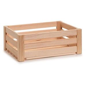 Zeller Present Holzkiste Leisten