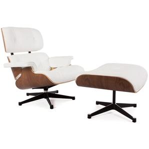 Eames Lounge Sessel - Nußbaum