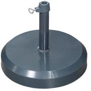 doppler Sonnenschirmständer /Sockel 25 kg Dunkelgrau für Sonnenschirm bis max. Ø 180 cm