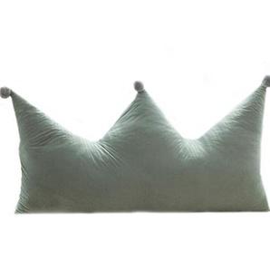 Bedside Kissen, Kinderbett Prinzessin Kissen weichen Bezug Sofa großen Rücken Multifunktions, 3 Farben, 3 Größen (Farbe : A, größe : 60 * 50cm)
