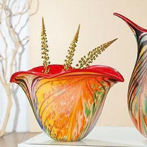 GILDE Tischvase »Fiori«, Art Vase, aus Glas
