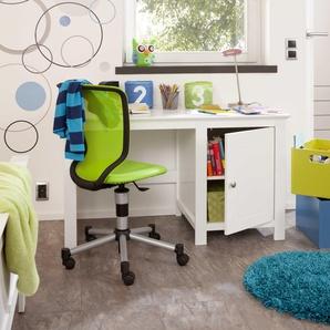Portobello Schreibtisch ,Weiß ,Kunststoff
