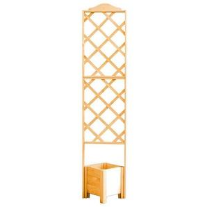 PROMADINO Holzspalier mit Pflanzkasten, BxTxH: 47x45x210 cm