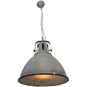 Pendelleuchte»JESPER«, grau, Gr. onesize, BRILLIANT LEUCHTEN, Material: Metall, Glas