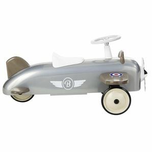 Flugzeug aus Metall grau BAGHERA