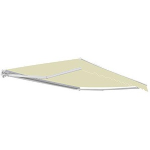 3,0m günstige Standardmarkise, Elfenbein - 300g/qm Polyester