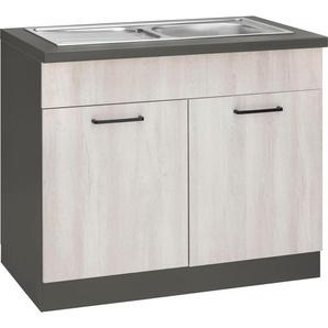 wiho Küchen Spülenschrank Esbo