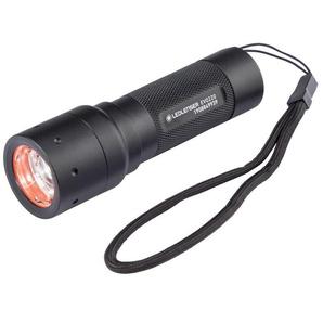 Ledlenser Taschenlampe, 180 m Leuchtweite, Nahlicht und Fernlicht, schnelle Fokussierung