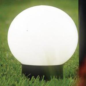 Brema 123138 Kunststoff-Solar-Leuchtkugel mit Erdspieß und Verlängerungsstiel