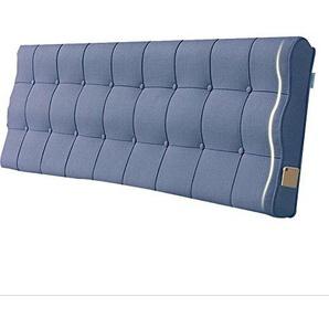 GGCG Bedside Kissen, Rückenkissen, Schlafzimmer zurück, weiche Verpackung, Reine Farbe, 4 Farben, die gereinigt Werden können. (Farbe : 4#Without headboard, größe : 90x60x10CM)